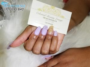 Celestial Beauty Lounge - How To File Perfect Oval Nails?